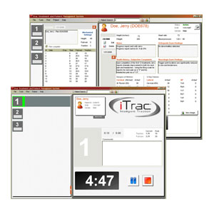 iTrac cervical traction software