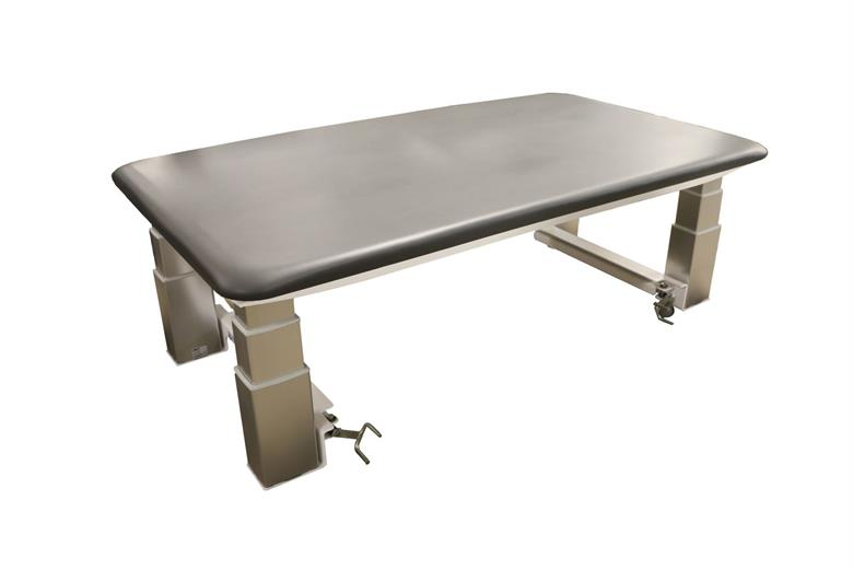Pt2000 Bariatric Electric Hilo Mat Table Charcoal
