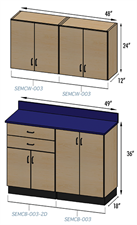Stor-Edge Cabinet Grouping #3